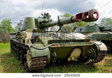 Full tank closeup