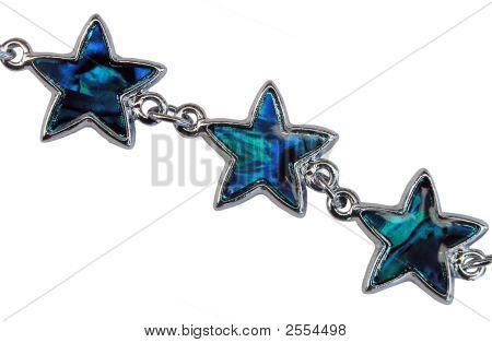 Paua Shell Stars
