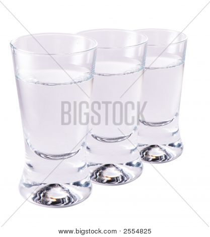 Shotglasses Of Vodka