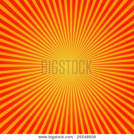 Vector Sun Sunburst Pattern