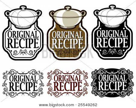 Original Recipe Seal / Mark / Icon