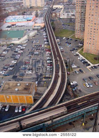 Curved Train Tracks