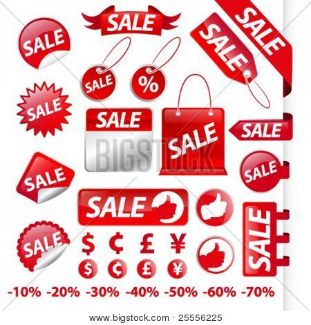 Ultimate sale labels