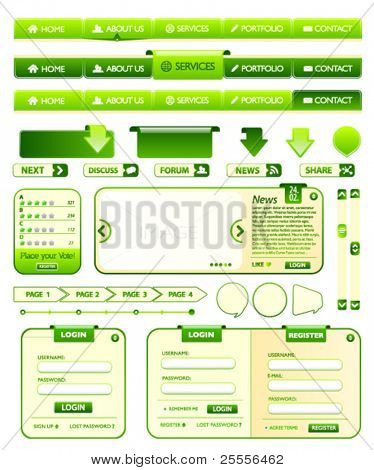 Web design elements pack 1