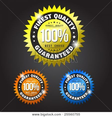 Finest quality guranateed colorful badges