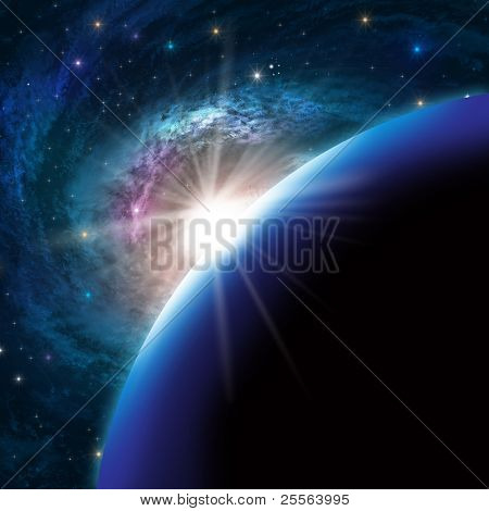 Kosmos-Hintergrund