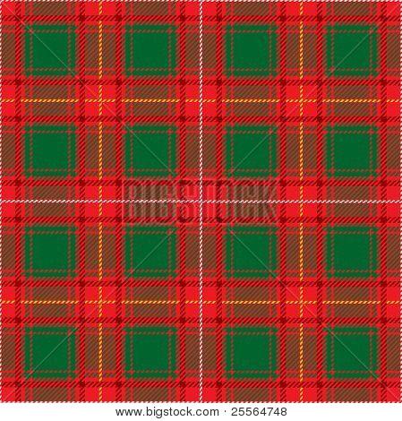 Scottish plaid, vector seamless pattern