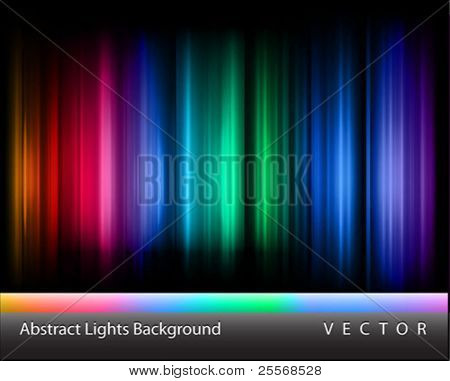 Vector abstract lights