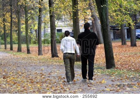 Lovers In Park