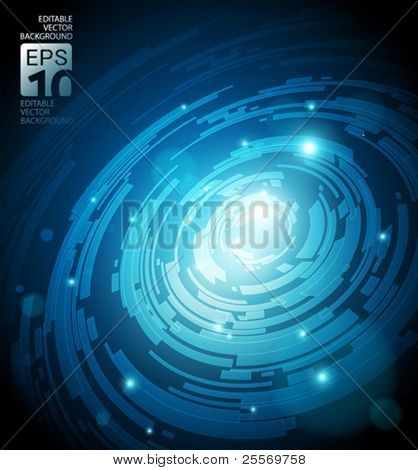 abstract background for futuristic high tech design - vector