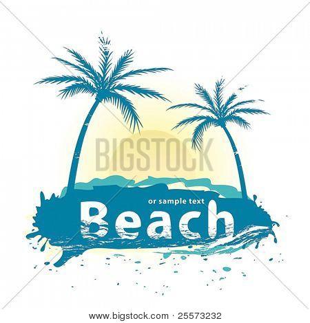 Vetor de praia