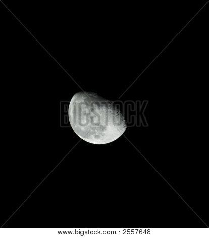Three-Quarter Moon