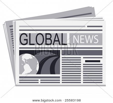 Newspaper of global  news