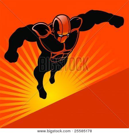 Generic Flying Superhero