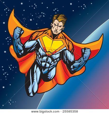 Super human flying
