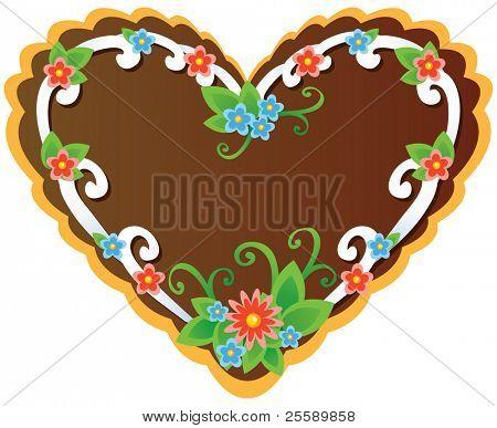 Oktoberfest souvenir - gingerbread cookie