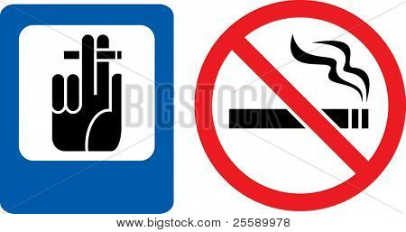 Forbidding and permitting vector signs