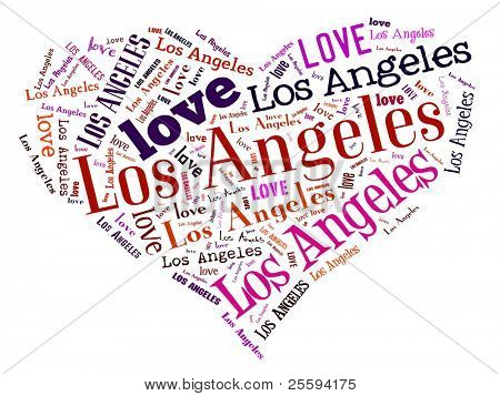 Love heart of  Los Angeles
