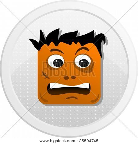 Homeless of avatar icons set