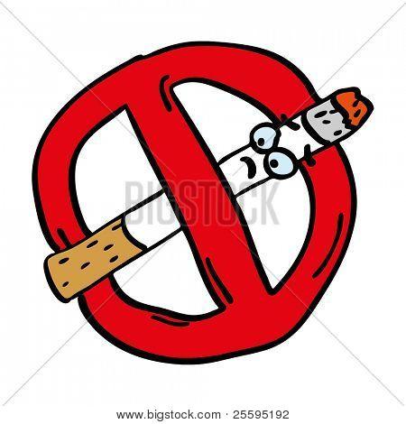 Prohibited smoking