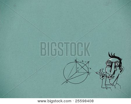 mathematician illustration