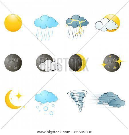 Pictogram van het weer