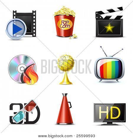 Постер, плакат: Кино и развлечений иконы | Белла серии часть 2, холст на подрамнике