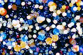 Abstract Festive Background. Glitter Vintage Lights Background With Lights Defocused. Christmas And poster