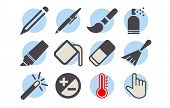 Shutterstock - Photo Editor Icon Pack 05.eps poster