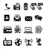 image of sms  - Communication and information icon set - JPG
