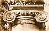 Ionic Stone Column