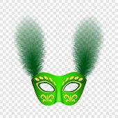 Carnival Icon. Realistic Illustration Of Carnival Icon For On Transparent Background poster
