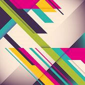 picture of letterhead  - Colorful background with designed elegant abstraction - JPG