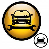 pic of car repair shop  - Auto repair shop sign - JPG