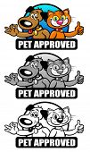 Pet Approved Seal Set / Mark