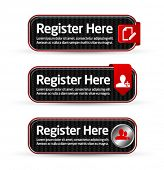 Carbon register here button templates