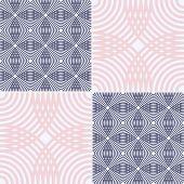 Vector Silhouette Ethnic Pattern. Simple Monochrome Geometric Background. Square Pattern. Decor Patt poster