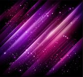 stock photo of north star  - abstract lights purple background - JPG