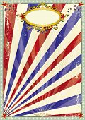 picture of arriere-plan  - Grunge old circus background - JPG