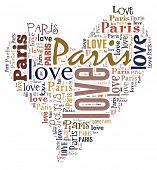 Постер, плакат: Я люблю Париж