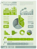 pic of sustainable development  - ecology info graphics collection  - JPG