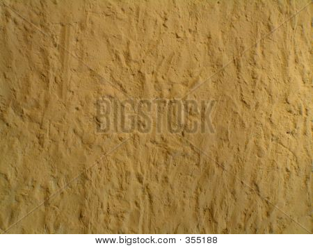 Golden Stucco Wall