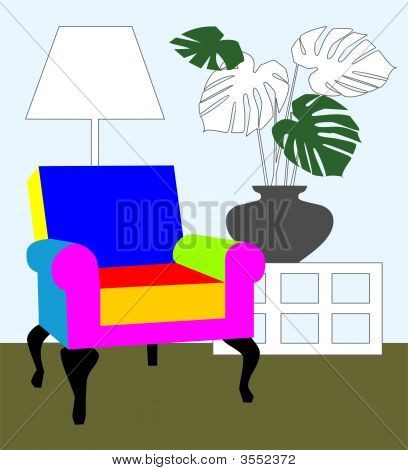 Colorful Armchair