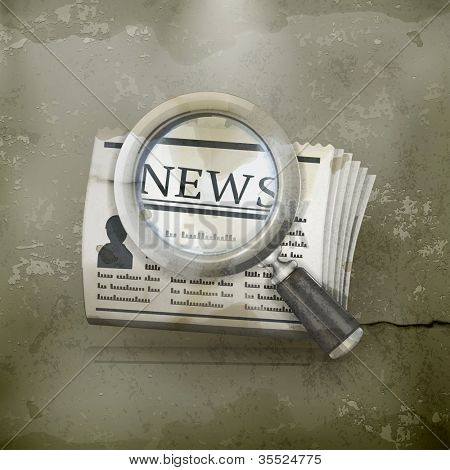 News Search, old-style vector