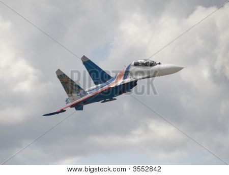 Su-27 Heavy Jet Fighter