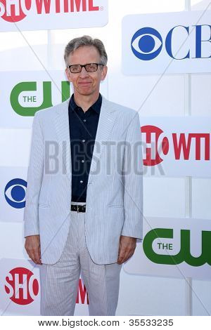 LOS ANGELES - JUL 29:  Robert Joy arrives at the CBS, CW, and Showtime 2012 Summer TCA party at Beverly Hilton Hotel Adjacent Parking Lot on July 29, 2012 in Beverly Hills, CA