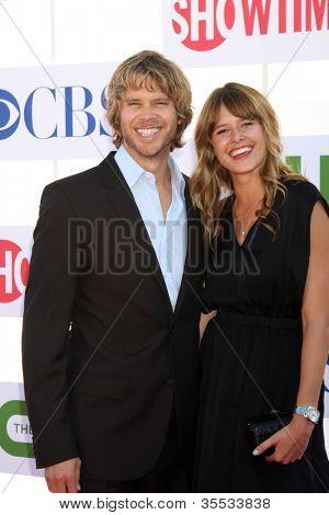 Los Angeles jul 29: Eric christlichen Olsen bei der Cbs, cw und Showtime 2012 Sommer Tca Par kommt