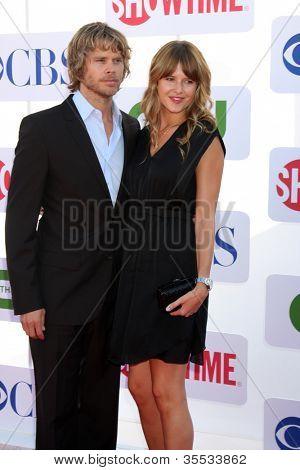 LOS ANGELES - JUL 29: Eric Christian Olsen kommt bei der CBS, CW und Showtime 2012 Sommer TCA par
