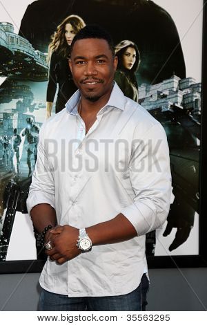 LOS ANGELES - AUG 1:  Michael Jai White arrives at the