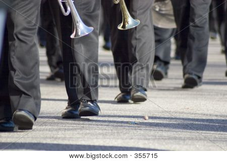 La banda de marcha